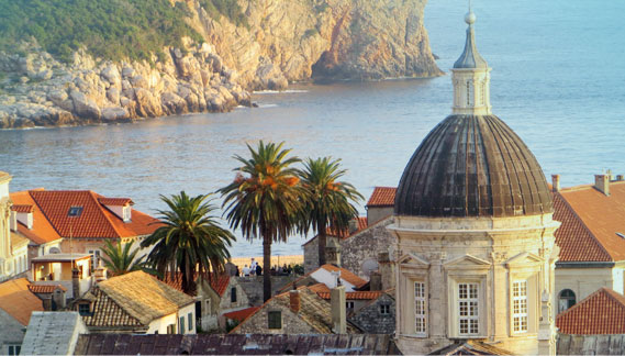 This is the image of old city Dubrovnik